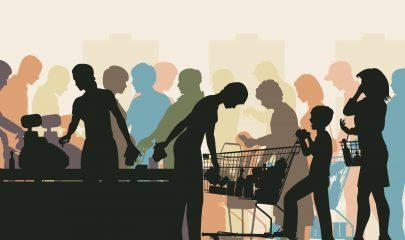 Discussão em fila de caixa não obriga supermercado a indenizar cliente_shutterstock_155309429