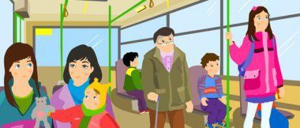 Empresas de ônibus são condenadas por negar assento gratuito a idoso
