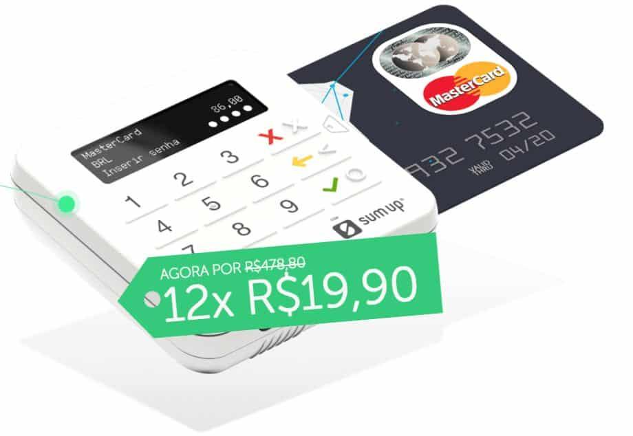 Maquineta Sumup de Cartão de Crédito e Débito