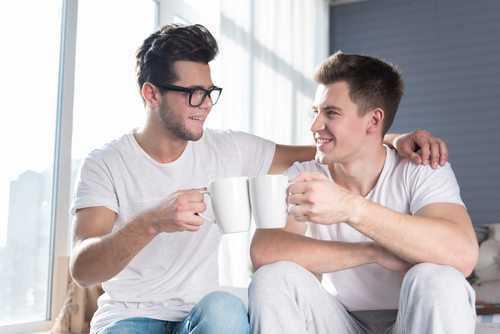Casal homoafetivo