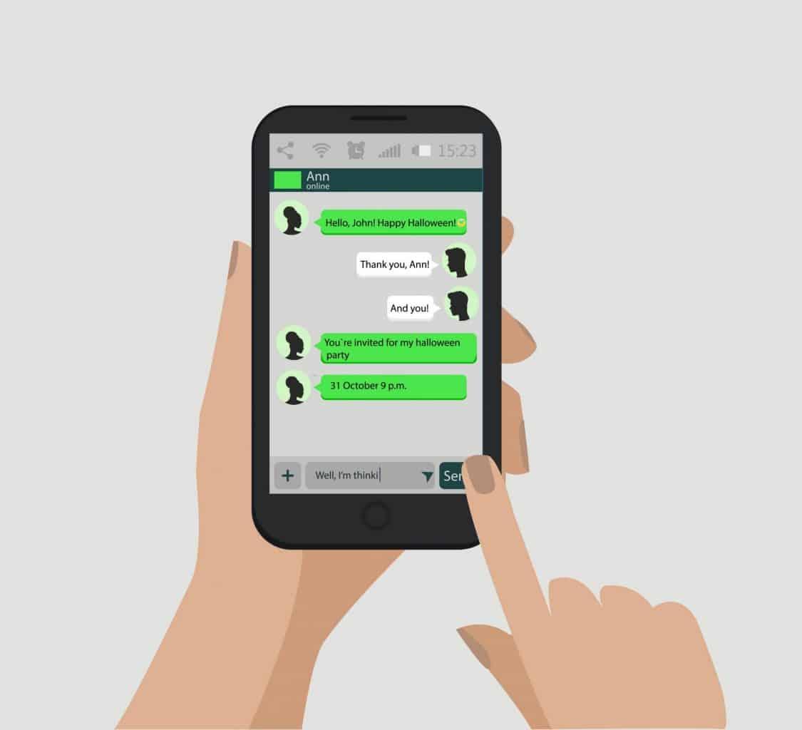 Acordo trabalhista feito pelo aplicativo WhatsApp