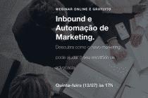 Webinar sobre Inbound e Automação de Marketing para advogados e escritórios de advocacia