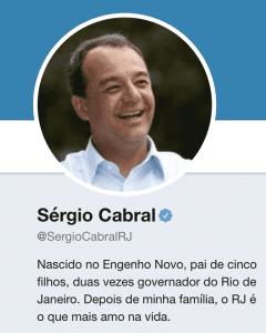 Sérgio Cabral - Twitter
