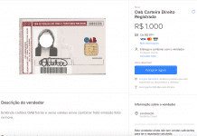 Anúncio OAB - Mercado Livre