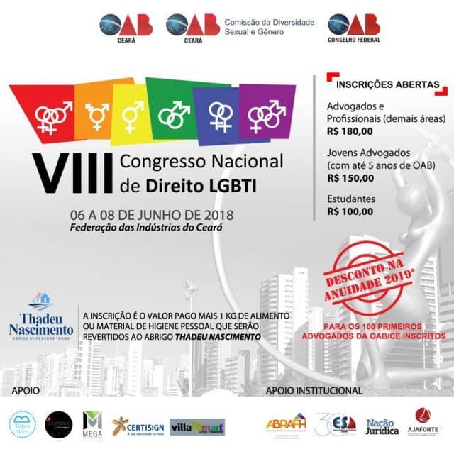 VII Congresso Nacional de Direito LGBTI
