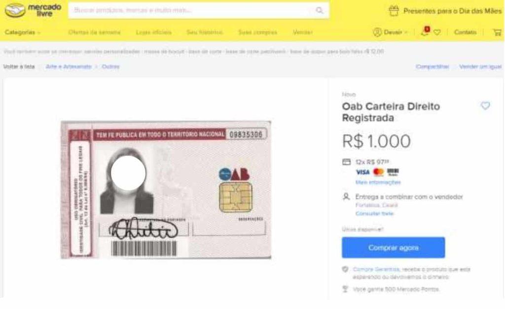 carteira-oab-mercado-livre-denuncia-oab