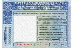 Carteira Nacional de Habilitação (CNH)
