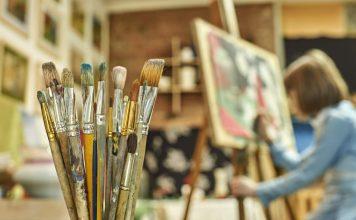 escritório de arte
