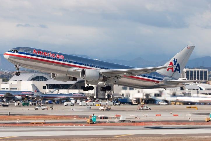 Aeronave da American Airlines - Créditos: CT757fan / iStock