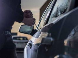por furto de carro em estacionamento