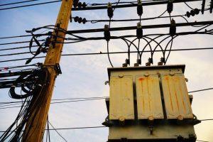 interrupção do fornecimento de energia