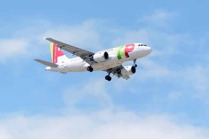 Aeronave da TAP Air Portugal - Créditos: Yellow_lizard / iStock