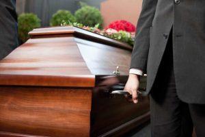transtorno em sepultamento