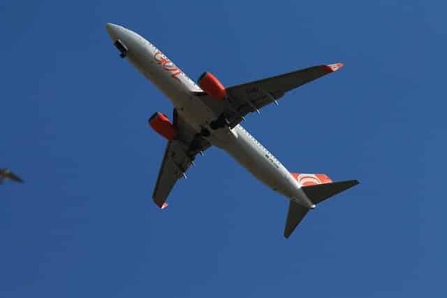 Aeronave da Gol Linhas Aéreas - Créditos: wilkernet / Pixabay