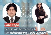 Milla Cerqueira e Wilson Roberto