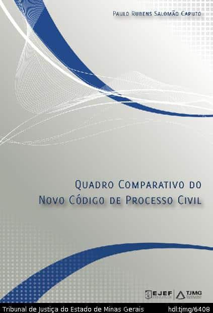 Capa do Livro - Quadro comparativo: CPC/1973 com o NCPC