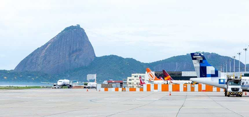 Aeroporto Santos Dumont - Créditos: filipefrazao / iStock