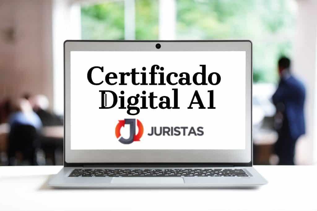 Certificação Digital Tipo A1
