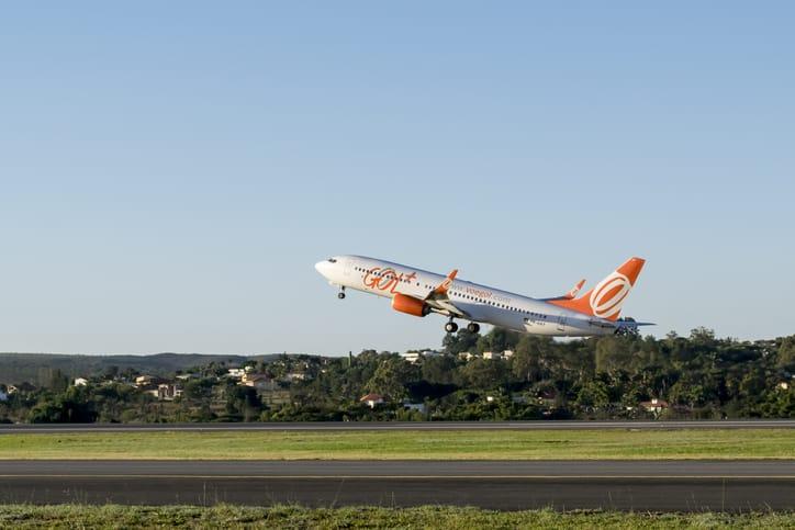 Aeronave da Gol Linhas Aéreas - Créditos: Fabricio Rezende / iStock