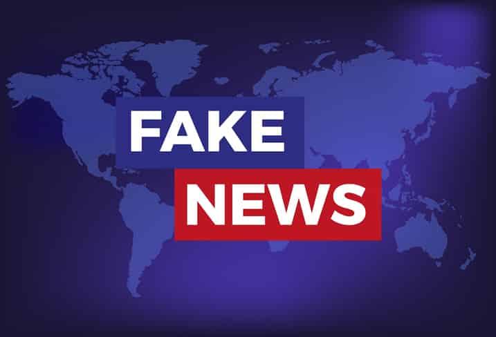 Notícia Falsa - Fake News