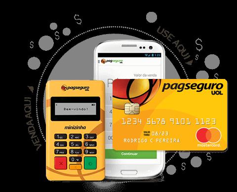 Maquineta de Cartão de Crédito Pagseguro
