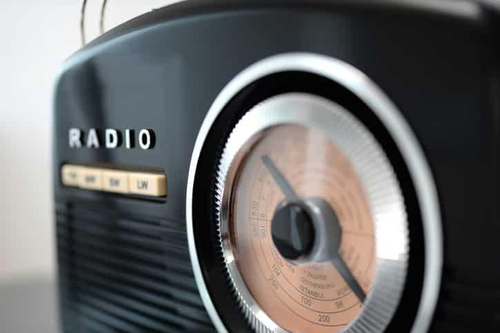 Aparelho de Rádio AM/FM