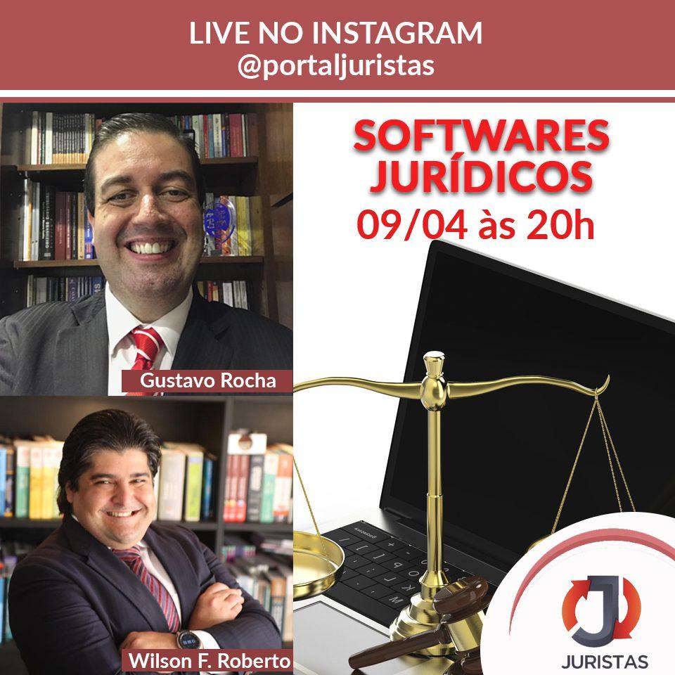 Bate-papo sobre softwares jurídicos dia 09/04 | Juristas