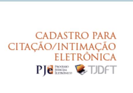 PJe - Processo Judicial Eletrônico