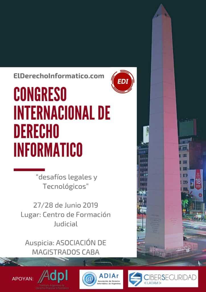 Wilson Furtado Roberto palestra na Argentina sobre Direito Digital 2