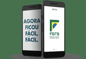 Aplicativo FGTS para Smartphones