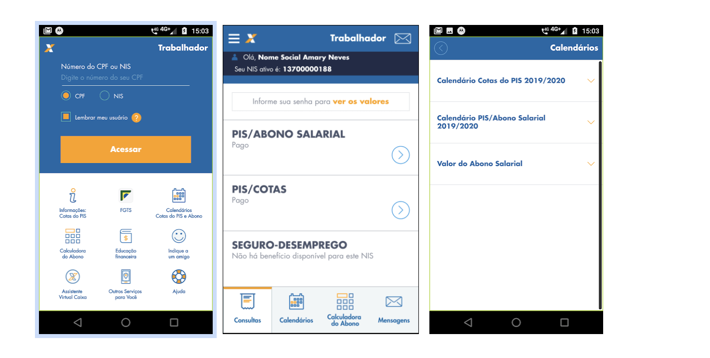 Android - Caixa Trabalhador - CEF