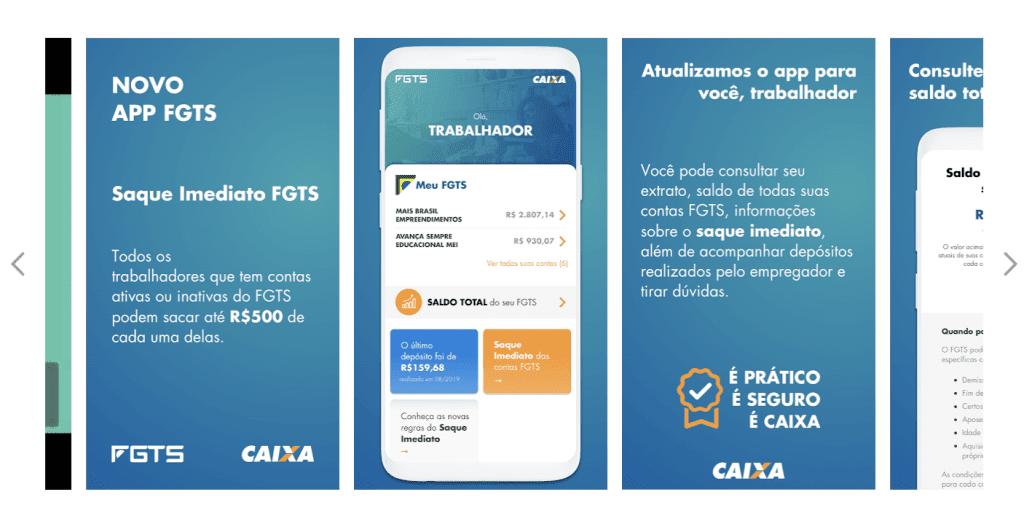 FGTS - App - Caixa Econômica Federal