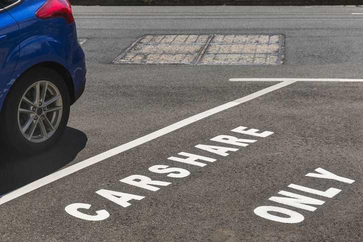 Estacionamento para Carshare - Carsharing