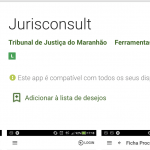 Aplicativo Jurisconsult do TJMA