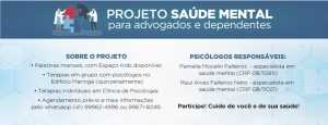 Caixa de Assistência dos Advogados do Paraná promove o Simpósio Setembro Amarelo no dia 19 | Juristas
