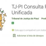 Aplicativo TJ-PI Consulta Processual Unificada