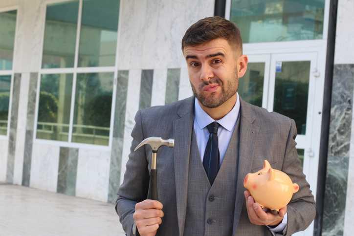 Empresário endividado - Falência