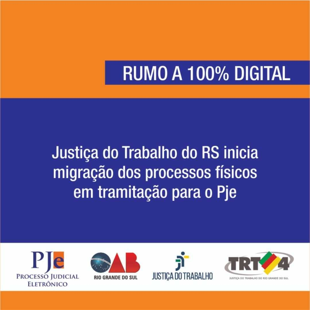 Sistema Processo Judicial Eletrônico - PJe