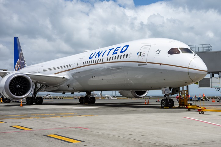 Companhia Aérea United Airlines dos Estados Unidos da América