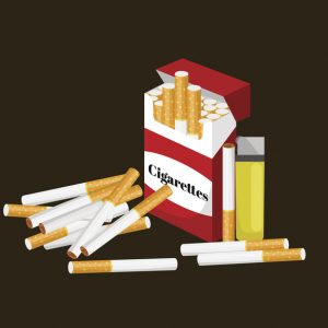Cigarro para filho menor