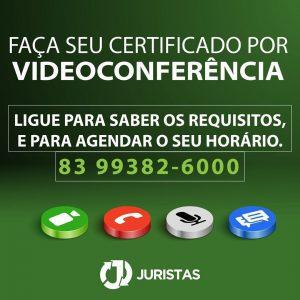 Videoconferência - Certificado Digital