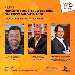 Sócio do Gasparini, Nogueira de Lima e Barbosa Advogados participa de live sobre decisões nas empresas familiares diante do cenário econômico atual | Juristas