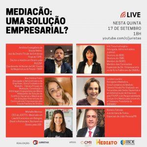 Portal Juristas promove webinar sobre mediação empresarial | Juristas