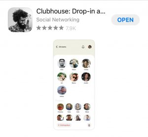 Aplicativo Clubhouse para advogados