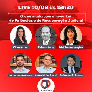 Portal Juristas realiza webinar sobre a nova lei de falências e recuperação judicial   Juristas