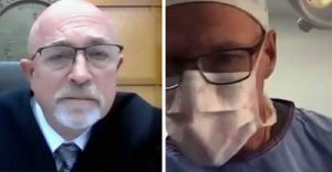 Cirurgião entra em audiência judicial nos EUA enquanto operava paciente   Juristas