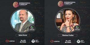 International Cyberlaw Conference - Painel sobre criptografia, LGPD e IoT reuniu João Roberto Peres e Telma Troise | Juristas