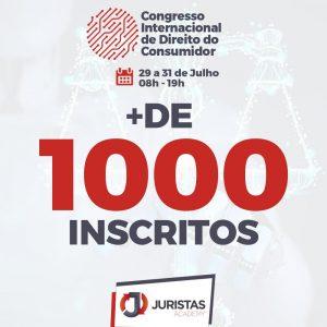 Congresso Internacional de Direito do Consumidor 2021 conta com mais de mil inscritos | Juristas
