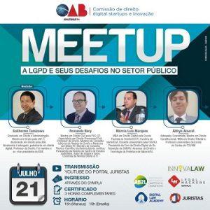Meetup : A LGPD e seus desafios no setor público | Juristas