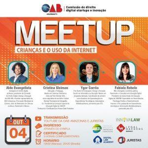 """Meetup, """"Crianças e o uso da Internet"""" acontece na segunda-feira (4)   Juristas"""